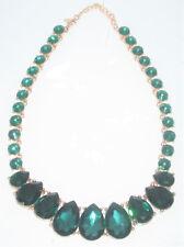 ALDO Emerald green  Green women's necklace Adjustable Chunky Bib Elegant