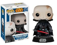 Funko - POP Star Wars: Unmasked Darth Vader