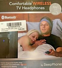 AcousticSheep SleepPhones Bluetooth Comfortable Wireless TV Headphones