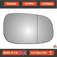 Right Driver Wide Angle Wing Mirror Glass for Volvo V70 2007-2010 92RAS