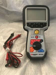 Megger MIT420 Megohmmeter / Insulation Resistance Tester 50V/100V/250/500/1000