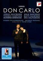 VERDI - DON CARLO 2 DVD NEUF - JONAS KAUFMANN, ANJA HARTEROS, THOMAS HAMPSON