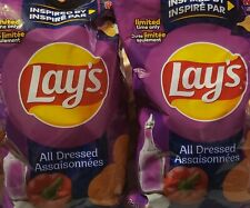 Lays Chips Limited Time Only All Dressed 220g large bag