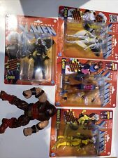 Marvel legends Lot X-Men Classic Gambit Rogue B/W Storm Loose BAF Juggernaut