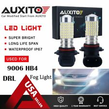 2x 9006 HB4 144-SMD LED High Power 6000K White Fog Driving Light Bulbs 2800LM