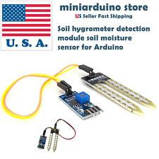 10 x Soil Hygrometer Water Detection Module Moisture Sensor for Arduino DIY USA