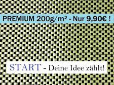 Start-Premium-tessuto ibrido 200g/m², CARBON-KEVLAR, aramide Z-HGH-Plain 200 0,3qm