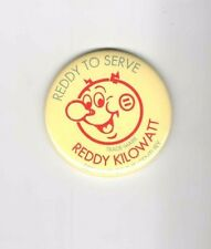 REDDY KILOWATT pocket  mirror REDDY to SERVE