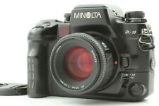 [Mint] Minolta α-9 Alpha a-9 SLR Camera Body + AF 50mm F1.4 Lens Japan #2104-3