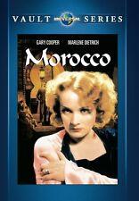 Morocco 1930 (DVD) Marlene Dietrich, Gary Cooper, Adolphe Menjou - New!