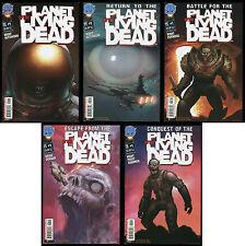 Planet of the Living Dead Ultimate Comic set 1 Lot Return Battle Escape Conquest