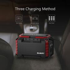 Suaoki S270 Portable Charging Station Mini Solar Generator 150WH 2 AC/4DC 3USB