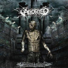 FREE US SHIP. on ANY 3+ CDs! NEW CD Aborted: Slaughter & Apparatus: A Methodical