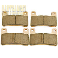 Front Sintered Brake Pads For Suzuki GSXR 1000 2004-2011 GSXR 600 750 2004-2010