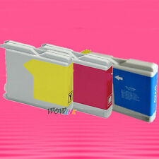 3P 3 COLOR LC51 INK CARTRIDGE FOR BROTHER DCP 130C 330C