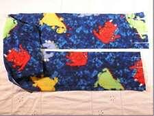 Dinosaurs Dinosaur on Blue Fleece Scarf