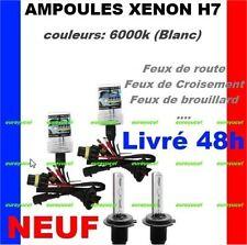 2 AMPOULES DE RECHANGE 35W POUR KIT XENON HID H7 6000K GOLF
