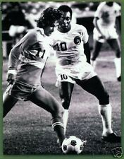 George Best & Pele Match Action 10x8 Photo