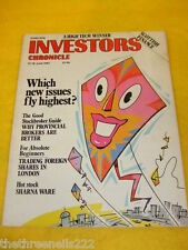 INVESTORS CHRONICLE - WHY PROVINCIAL BROKERS ARE BETTER - JUNE 12 1987
