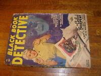 BLACK BOOK DETECTIVE PULP, FEBRUARY 1948, with BLACK BAT