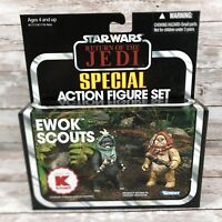 Star Wars ROTJ Return of the Jedi Kenner Kmart Ewok Scouts Endor New in Box