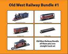 Old west cowboy railway bundle #1