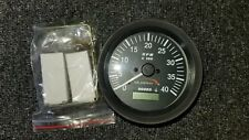 NEW MURPHY TACHOMETER AT40 with Digital Hour Meter 4000 rpm ATHA-40-A 12-24 volt