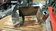 Harley Shovelhead Oil Tank Resevoir Horseshoe Style Battery Tray Box Bag FX FXE