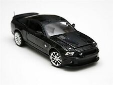 1:18 Shelby Collectibles BLACK 2010 Ford shelby gt500 Super Snake Mustang