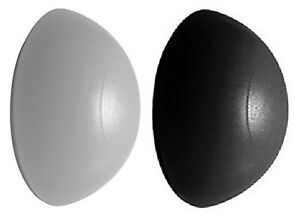 Door Stop Bumpers Available in Black or White Rubber Wall Self Adhesive 32mm x 1