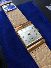 Nice Watch gold case, manual, Nos