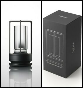 Ambientec Turn+ Aluminium original Black LED Table Lamp TP-01AB USB Rechargeable