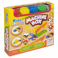 15pc Clay Kids Dough Gift Sets Tubs & Shaping Craft Shapes Children Xmas Gift