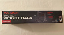 "Weider Wdbrk20 24"" Two-Tier Weight Rack -Black"