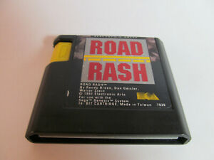 Road Rash (Sega Genesis, 1994) Authentic Fun Game Nice Shape