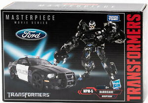 Hasbro Takara Tomy Transformers Masterpiece Film Série Barricade MPM-5 Figurine