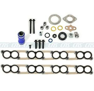 EGR Cooler Gasket Kit Ford F-250 F-350 F-550 Super Duty 6.0L V8 Diesel Turbo