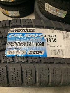 1 New 255 65 18 Toyo Celsius CUV Tire