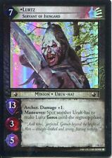 Lord Of The Rings CCG FotR Foil Card 1.R127 Lurtz Servant Of Isengard