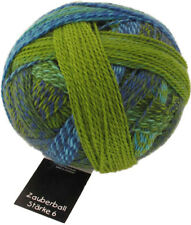 Schoppel Magic Ball Strength 6 Color 2136 The Lenz Is Da Sock Yarn