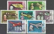 Timbres Avions Mongolie PA92/8 o lot 4671
