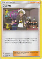 Pokemon TCG x4 Guzma 115/147 Sun & Moon Burning Shadows Trainer NM/M