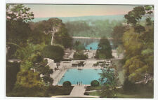 Roman Plunge Pool Hotel Del Monte California hand colored postcard