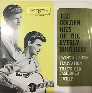 The Golden Hits Of the Everly Brothers EP -NM condition- 45rpm