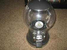 50 cent Black Globe Heavy Duty Commercial Grade Gumball Machine For Candy & Key
