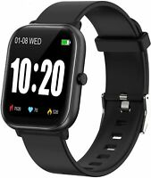 Smart Watch, Smart Watch for Android Phones Compatible iPhone iOS Phones, IP68