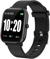 Smart Watch, Smart Watch for Android Phones Compatible iPhone iOS Phones, IP68