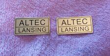ALTEC LANSING SPEAKER badges