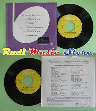 LP 45 7''ERIK THEN.BERGH Vier beliebte klavierstucke Nocturne Fur Elise no cd mc