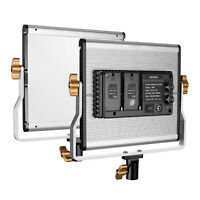 Neewer 600 LED Video Light with U Bracket and Carry Bag 3200-5600K (Gold)